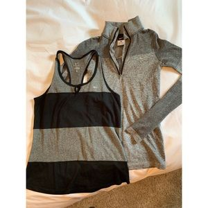 Workout tank + Long-sleeve